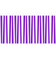 cute pattern banner with violet and white vector image vector image