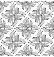 floral seamless patternwhite background vector image vector image