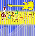 Music Note Notes Sign Key Background Background mo vector image vector image