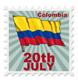 national day of Colombia vector image vector image