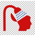 Open Mind Shower Icon vector image vector image