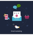 Set of email marketing vector image