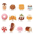 Sweet emotion set vector image vector image