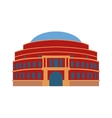 Theater building vector image