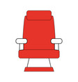 theater seat icon image vector image vector image