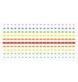 treasure brick shape halftone spectral grid vector image