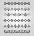 Vintage Borders Design vector image vector image