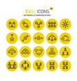 easy icons 06c money vector image