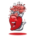 funny hearts collection vector image vector image