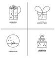 Gift Boxes Logo vector image vector image