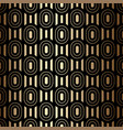 golden luxury seamless pattern with ovals vector image vector image