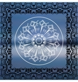 Mandala Sea background vector image vector image