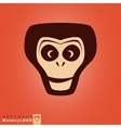Monkey logo template vector image vector image