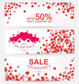 sale header or banner set with discount offer