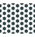 Seamless football star pattern vector image