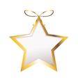 star ornament icon vector image