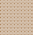 Beige striped flaked seamless pattern vector image vector image