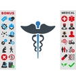 Caduceus Icon vector image