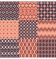 Color pixel set of background vector image