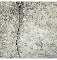 concrete crack background texture vector image vector image