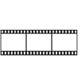 Filmstrip icon vector image vector image