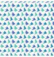 abstract fin scale shapes pretty aqua blue vector image