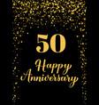 happy 50th anniversary handwritten celebration