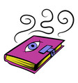 magic book icon icon cartoon vector image vector image