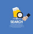 Search Concept vector image