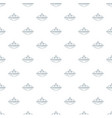 stationery pattern seamless vector image vector image