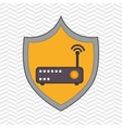 symbol router signal vector image