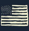 american flag background horizontal orientation vector image