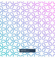 awesome flower decoration pattern background cute vector image vector image