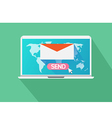 Business email marketing vector image vector image