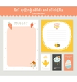 Easter greeting cards tags stickers and labels vector image vector image