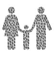 family child composition of dollar and dots vector image vector image