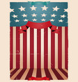 fourth july - american background vector image
