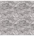Seamless pattern with wavy scale texture vector image vector image