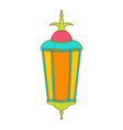 Arabic Colorful Lamp for Ramadan Kareem vector image vector image