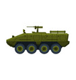 armored infantry fighting vehicle heavy special vector image vector image