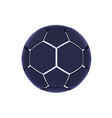 futuristic sports concept of a soccer ball vector image vector image
