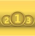 golden award labels vector image vector image
