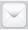 Message app icon vector image vector image