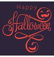 happy halloween dark vector image