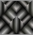 3d striped geometric seamless pattern textured vector image