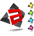 B letter vector image