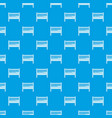 baby bed pattern seamless blue vector image vector image