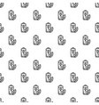 eco battery pattern seamless vector image vector image