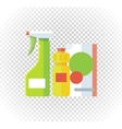 Household Chemical Appliances vector image vector image