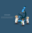 medicine and healthcare infographics banner vector image